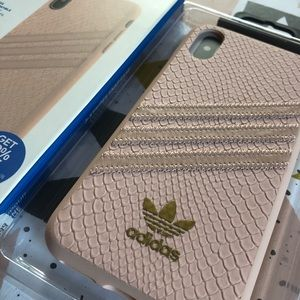 adidas Accessories - Adidas iPhone X & XS Case - Pink Snake Skin